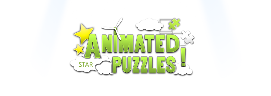 Animated Puzzles Star logo